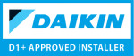 Daikin D1+ approve installer