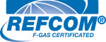 F-Gas certificated by Refcom