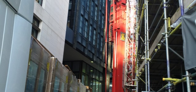 DCI installs cooling plant with mobile tower crane