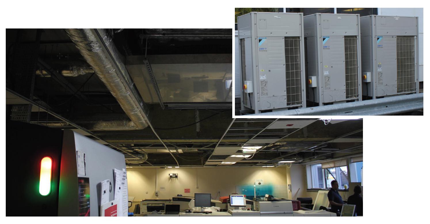 New HVAC for Hobbs the Printers Ltd