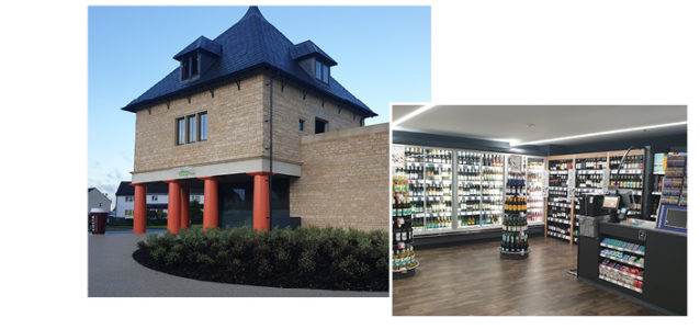 DCI designed and installed the refrigeration & HVAC systems for a new Micounties Cooperative store within The Bletchingdon Estate Development, Oxfordsdhire.